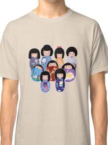 Kokeshi in Bloom Classic T-Shirt