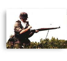 Soldier from WW2 Canvas Print