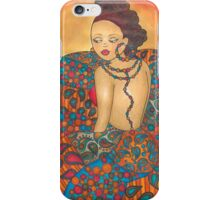 Buttons & Paisley  iPhone Case/Skin