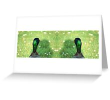 Two Ducks Are Better Than One Greeting Card