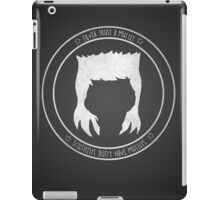 Never Trust A Mullet iPad Case/Skin