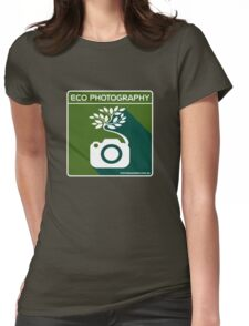 Eco Photography Womens Fitted T-Shirt
