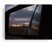 sunset mirror Canvas Print