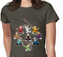The Wushu Family Womens Fitted T-Shirt