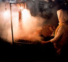 Market smoke by Paul Grinzi