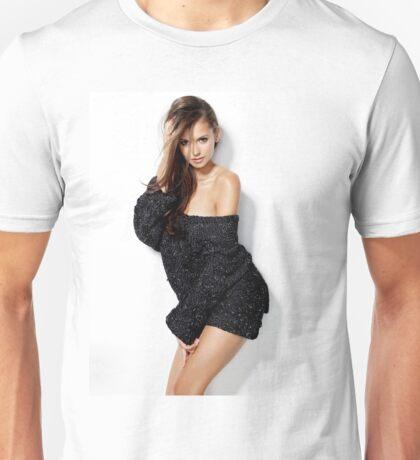 Hot Nina Dobrev Unisex T-Shirt