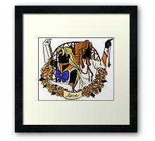 Venus x Juri - LOVE Framed Print