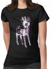 Dead Cute Collection - Fawn Womens Fitted T-Shirt