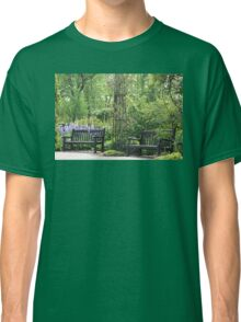 Benches and Roses in Hyde Park Classic T-Shirt