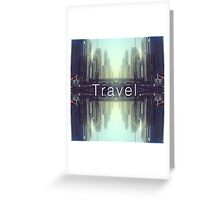 Travel. Dubai Greeting Card