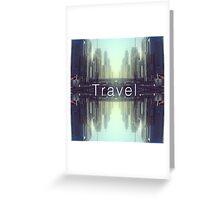 Travel. Dubai Greeting Card