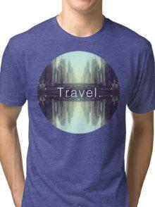 Travel. Dubai Tri-blend T-Shirt