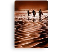 Surfin' fun Canvas Print