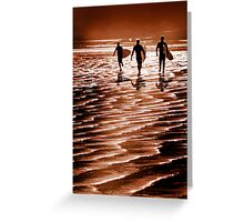 Surfin' fun Greeting Card