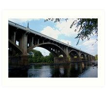 Gervais stree bridge Art Print