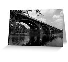 Gervais stree bridge #2 Greeting Card
