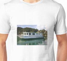 Whangaroa Houseboat Maple Leaf Unisex T-Shirt
