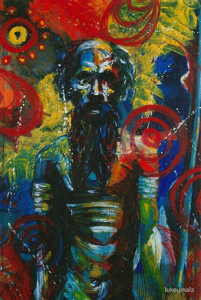 Old Spirit Man by lukeymalz
