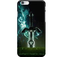 The legend of Zelda - Link sword Excalibur iPhone Case/Skin