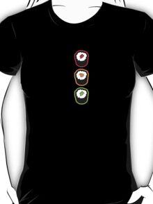Sushi Traffic Light Night  T-Shirt