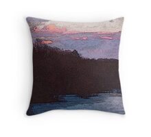 Chilly Scenes of Winter Throw Pillow