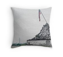 America is... Throw Pillow