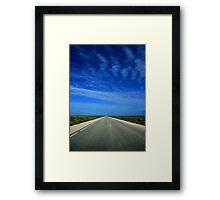 Nullarbor Framed Print