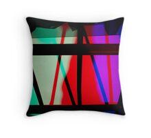 Light art - bars Throw Pillow