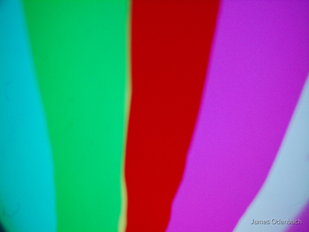 Light Art - Abstract by James Odenbach