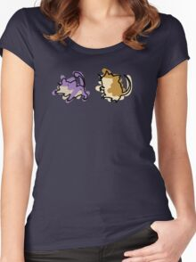 Rattata Raticate Women's Fitted Scoop T-Shirt