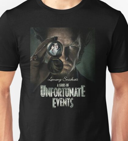 a series of unfortunate events Unisex T-Shirt