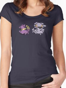 Ekans, Arbok Women's Fitted Scoop T-Shirt