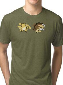 Sandshrew, Sandslash Tri-blend T-Shirt