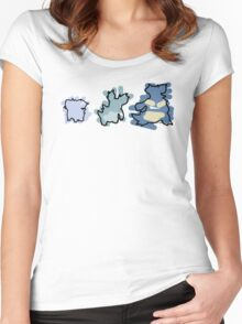 Nidoran, Nidorina, Nidoqueen Women's Fitted Scoop T-Shirt