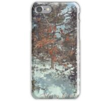 Beautiful Branches - Merry Christmas iPhone Case/Skin