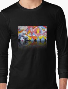 Collaboration Painting - mikoto & Shannon Crees (also a 2 minute time lapse video!) Long Sleeve T-Shirt