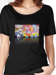Collaboration Painting - mikoto & Shannon Crees (also a 2 minute time lapse video!) Women's Relaxed Fit T-Shirt