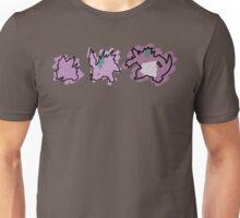 Nidoran, Nidorino, Nidoking Unisex T-Shirt