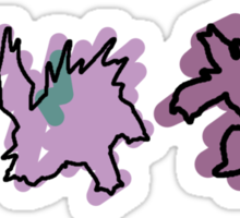 Nidoran, Nidorino, Nidoking Sticker