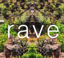 Travel. Florence Falls Sticker