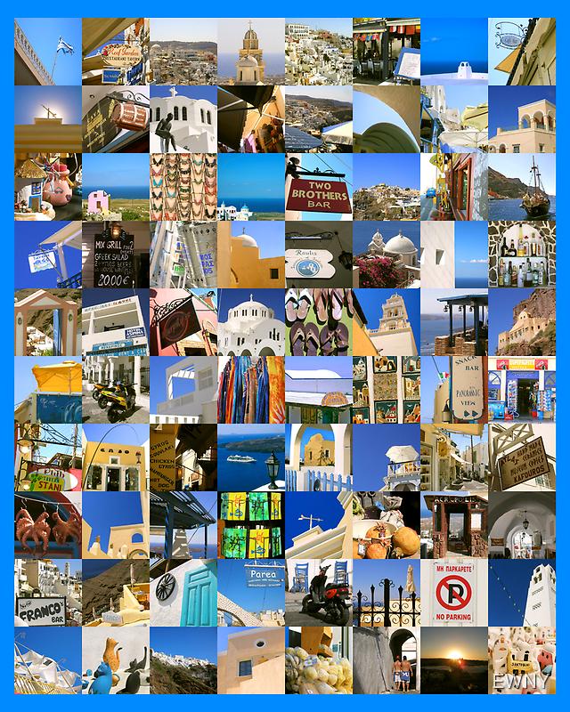 Santorini by EWNY