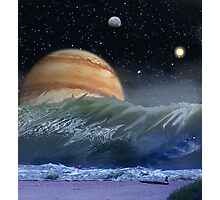 "Alien Landscapes-""Surfs up-Evers Pipe"" Photographic Print"