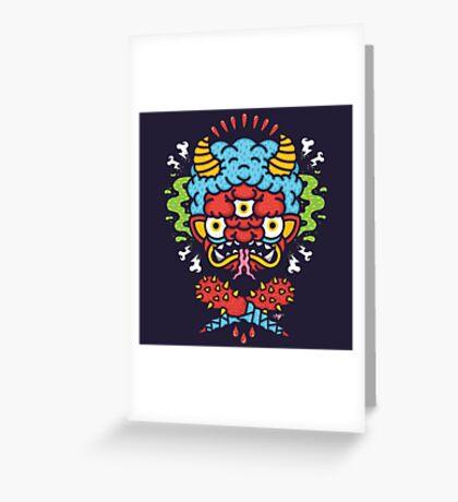 ONI! Greeting Card
