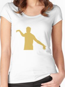 Gold Sturridge Silhoutte Women's Fitted Scoop T-Shirt