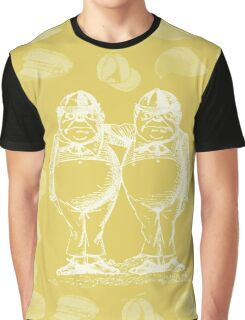 Tweedledum, Tweedledee and Caps. Graphic T-Shirt