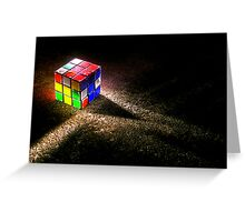 Cube 1 Greeting Card
