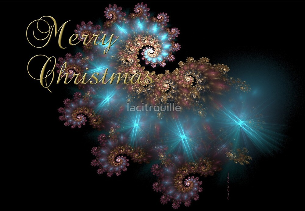 Christmas Card No. 3 by lacitrouille