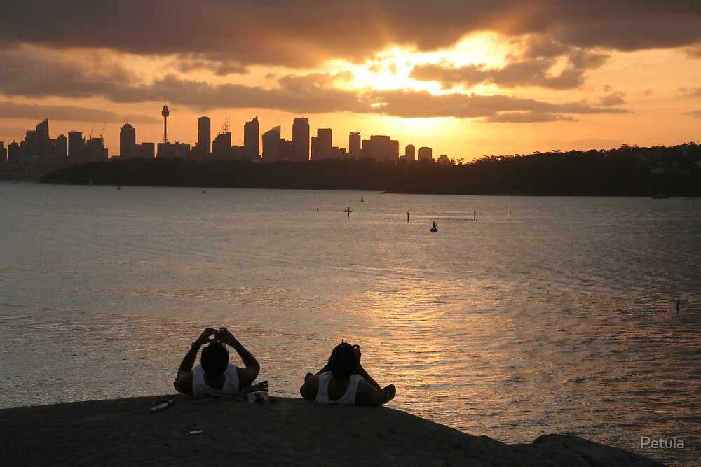 Sydney - sunset 02 by Petula