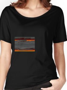 Glitch Homes Wallpaper hell floor Women's Relaxed Fit T-Shirt