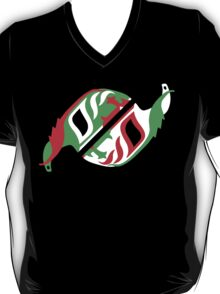 """Máscara Misteriosa"" Wrestling Design (Black) T-Shirt"